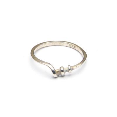 zilveren ring maat 15
